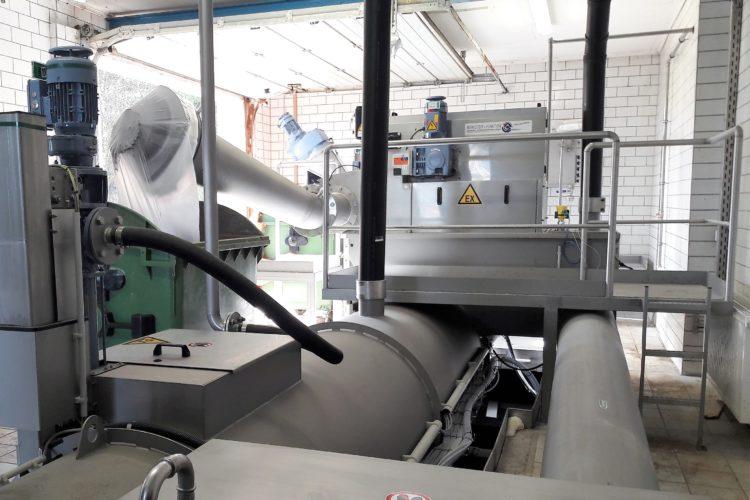 Erneuerung maschinen- technische Ausrüstung
