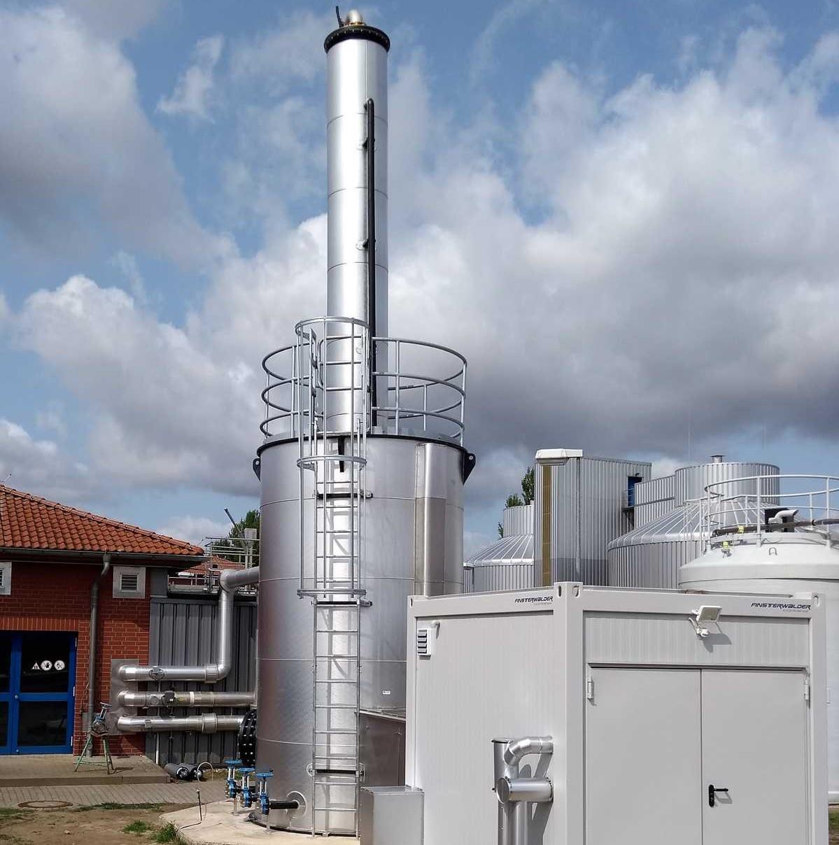 Grob- und Feinentschwefelung aus Biogas
