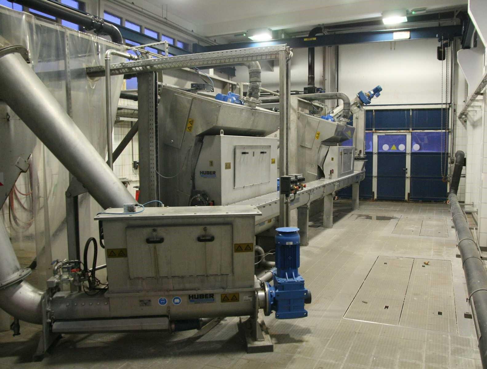 Rechen und Zulaufbereich Kläranlage Schwerin (200.000 EW)