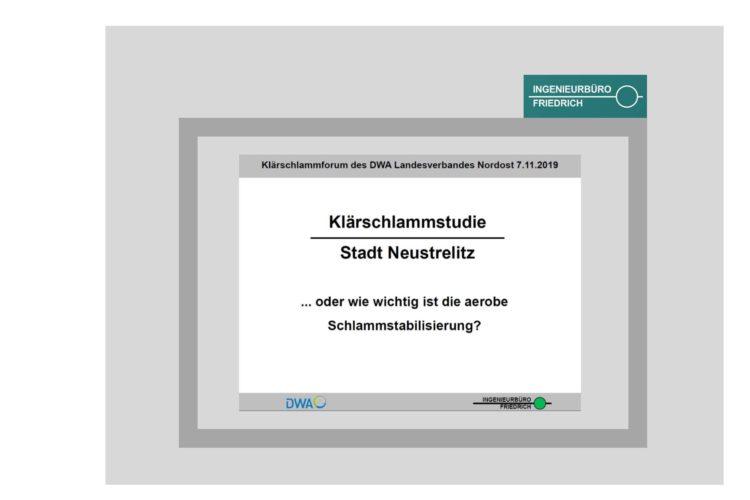 Klärschlammstudie Stadt Neustrelitz ... oder wie wichtig ist die aerobe Schlammstabilisierung